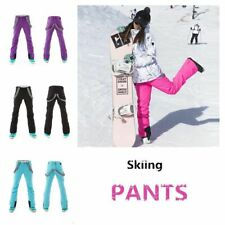 Winter Woman Warm Snowproof Skiing Pants Waterproof Ski Clothes Outdoor Sports