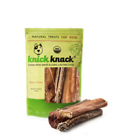 Thick Bully Sticks 6 inch Natural Dog  Treats Dental Chews 6 Pack USDA Approved