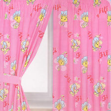 Fifi Petal Design Curtains Pair 66 x 72 OFFICIAL