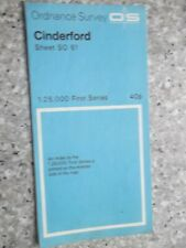 Ordnance Survey First Series Map Cinderford.