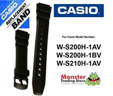 REPLACEMENT CASIO WATCH BAND ORIGINAL ONLY FITS: W-S200H,W-S210H,WS200,WS210