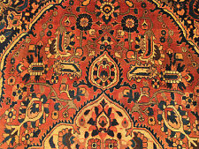8x12 HAND KNOTTED PERSIAN IRAN RUG WOVEN WOOL HERIZ rugs 8 x 12 antique 9 10 13