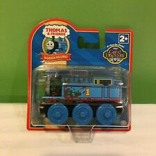 NEW RARE THOMAS & FRIENDS WOODEN RAILWAY MUD COVERED THOMAS TRAIN SHIPS FREE