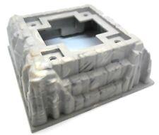 LEGO 1x Felsenplatte 3D Burgfelsen 16x16 Noppen in Neu-Dunkelgrau 53588