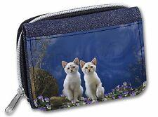 Fantasy Panther Watch on Kittens Girls/Ladies Denim Purse Wallet Christ, AC-75JW