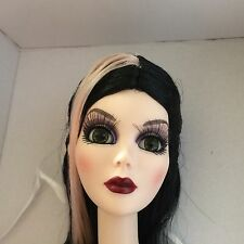 Tonner Wilde Evangeline Ghastly ~ Dancing Moon Basic Long Black WIG ONLY