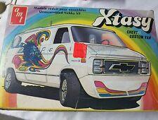 """AMT RARE  """" Van Xtasy """" 1/25 scale 70s Chevy van kit"""