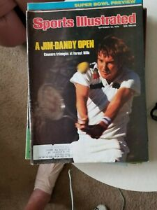 9/20/76 SPORTS ILLUSTRATED JIMMY CONNORS FOREST HILLS   GROBEE 1957