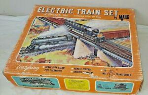 Vintage Marx Electric Train Set. A Complete Set #4205 with Box
