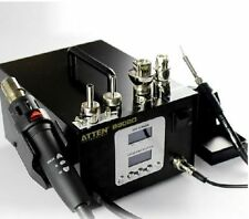 220V Dual LCD 2 IN 1 ATTEN AT-8502D 900W Pro Hot Air Rework W/ Iron Soldering
