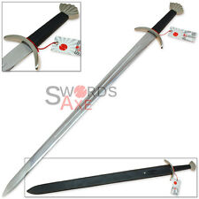 Viking One Handed Long Sword Replica - Full Tang Stainless Steel Ulfberht Ragnar