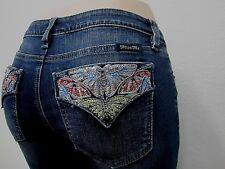 Miss Me Embellished SKINNY Jeans 30 Medium Blue