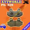 FRONT Brake Pads PEUGEOT Speedfight 3 Darkside 50cc A/C - 2T 2013 2014 2015