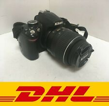 Nikon D D3000 10.2MP Digital SLR Camera - Black (Kit w/ AF-S DX VR 18-55mm Lens)