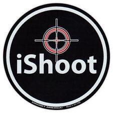 Round Magnet - iShoot - Gun Owners - Pro Gun Rights, 2nd Amendment