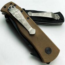 Benchmade Zt Folding Knife Titanium Diy Pocket Back Clip Cutter Accessories Tool