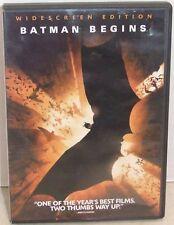 Batman Begins Widescreen Edition ~ DVD ~ Christian Bale