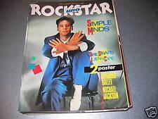 ROCKSTAR N.44 MAG.'84-SIMPLE M.-POSTER SPANDAU/JACKSON