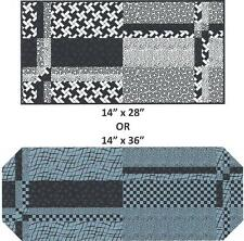 Stack Four Runners Table runner quilt pattern by Nancy Dill