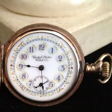 1886-1904 United States Watch Co Ladies Engraved Antique Pocket Watch US USWC