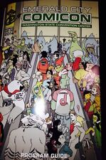 NEW 2014 Emerald City Comic Con PROGRAM ECCC Swag Comicon Seattle