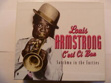 LOUIS ARMSTRONG C'EST CI BON 4 CD BOXSET  SUPERB QUALITY COLLECTION FREE P&P