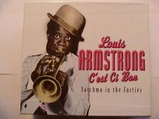 LOUIS ARMSTRONG C'EST CI BON 4 CD BOXSET  SUPERB QUALITY COLLECTION FREE P&P