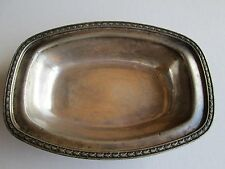 The Warwick Serving Bowl Silver Soldered 18% Nickel #02175 Blackstone