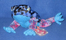 TY DART the BLUE DART FROG  BEANIE BABY - MINT with MINT TAG