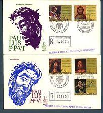 VATICANO - 1970 - Cinquantenario di sacerdozio di Paolo VI° su FDC Venetia