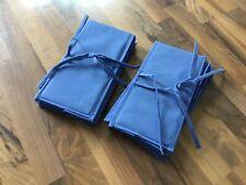 2 x Hängeutensil Schrank Kleiderstange IKEA WILJ blau Hängeaufbewahrung faltbar