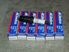 (6) NEW ACDELCO R44TSX SPARK PLUGS FOR CENTURY CAMARO CAPRICE CONCORDE EAGLE