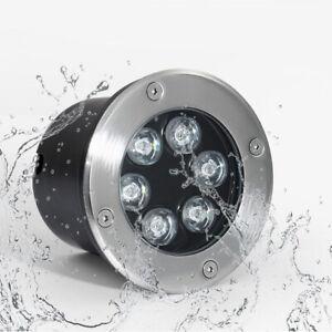 Outdoor Lamps LED Underground Buried Lights Waterproof IP65 DC12V/24V Landscape
