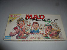 VINTAGE BOARD GAME MAD MAGAZINE PARKER BROTHERS COMPLETE 1988 WHAT-ME WORRY? CIB