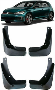 OEM Set Splash Guards Mud Flaps FOR VW 2013-2020 Golf MK7 MK7.5 GTI Hatchback