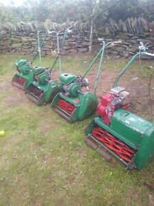 Ransomes lawn mowers x4  auto certes greens lawnmowers