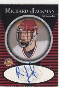 1998 Score Board Autographed Collection Richard Jackman Toronto Maple Leafs Auto