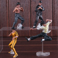 Free Shipping Cool Bruce Lee Kung Fu PVC Action Figures Collection Toys 4pcs/set
