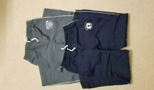 Two Pairs Boys Lined wind/warm up Pants Blue and Grey Size XXL (16)