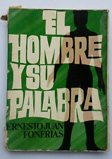 El Hombre y su Palabra  Ernesto Juan Fonfrias Toa Baja Puerto Rico 1974