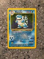 Pokemon TCG Cards Blastoise 2/102 Base Set Holo Rare LP