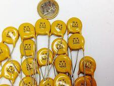 3,3NF 5kV lot de 30 condensateurs 3300PF 5000 Volts CC céramique