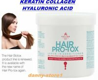 KERATIN COLLAGEN HYALURONIC ACID HAIR LEAVE IN CONDITIONER Dry Damaged
