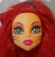 MONSTER HIGH DOLL FREAK DU CHIC TORALEI STRIPE REPLACEMENT HEAD ONLY FOR OOAK