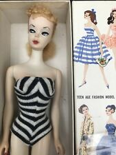 # Vintage Barbie Ponytail Doll 1 W/Gay Parisienne Box / Mattel.