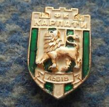 KARPATY LVIV UKRAINE FOOTBALL SOCCER FUSSBALL 1970's PIN BADGE