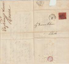 PONTIFICIO 2.2.1870 Lettera 10c arancio vermiglio / P26394