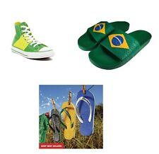 Pele ADIDAS BRAZIL ADILETTE Originals Sandals FLAGS NEYMAR Venicius Firmino NEW