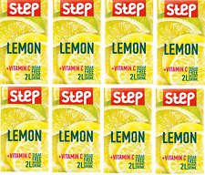 Step INSTANT DRINK -8 PACKS –LEMON in your cup with vitamin C.