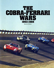 THE COBRA-FERRARI WARS 1963-1965, SIGNED BY CARROLL SHELBY, Le Mans, Road Racing